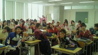 卒業式〜♪